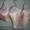 Im Knochen gereift Rindersteaks (ca. 4 Wochen gereift)